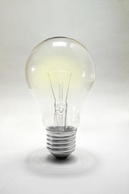 アイデア…と言えば電球。